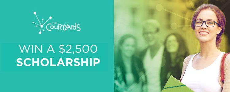 Win A $2,500 Scholarship
